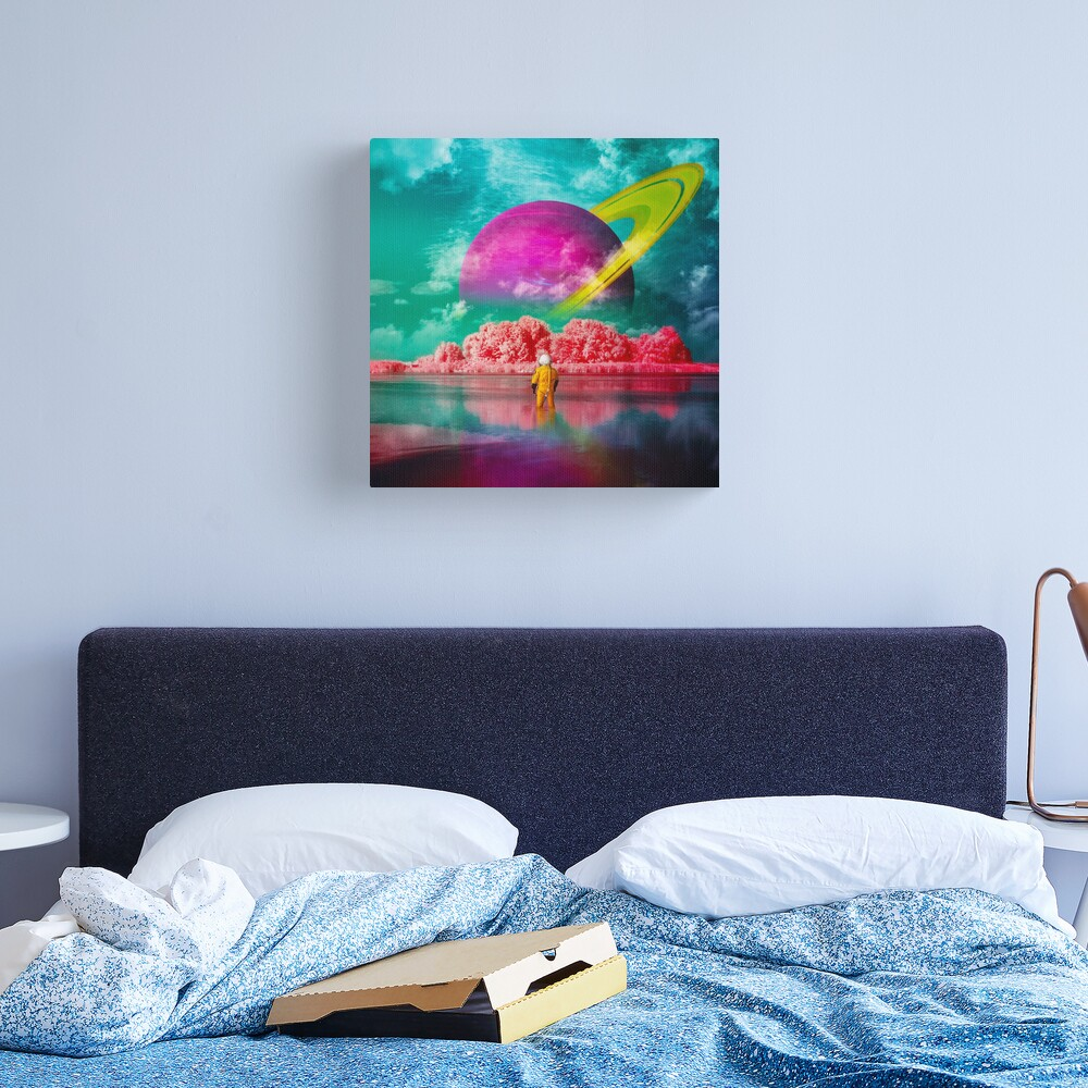 By This River Canvas Print