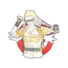 Jillian Holtzmann of Ghostbusters Fan Art by arosecast