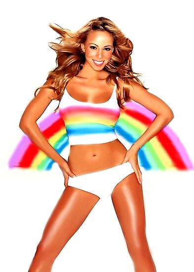 Abbildung Mariah Carey Regenbogen von Christina Anderson