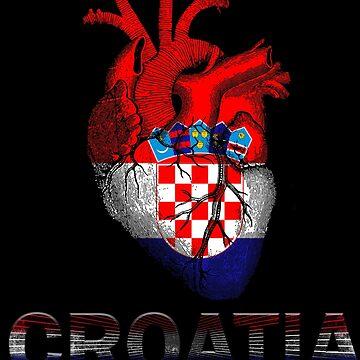 Croatia is my heart by francodelgrando