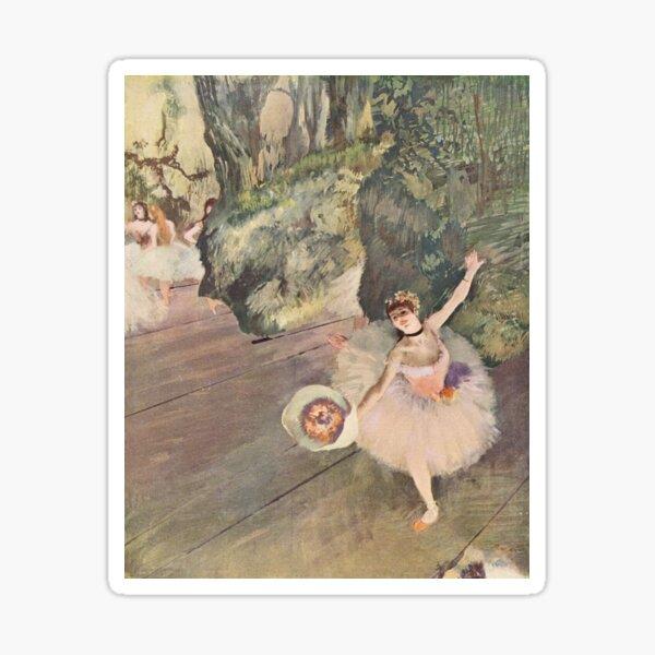 Dancer Taking a Bow (Degas) Sticker