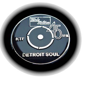Northern Soul Tamla Motown Detroit Soul 45 disc KTF by Glyn123