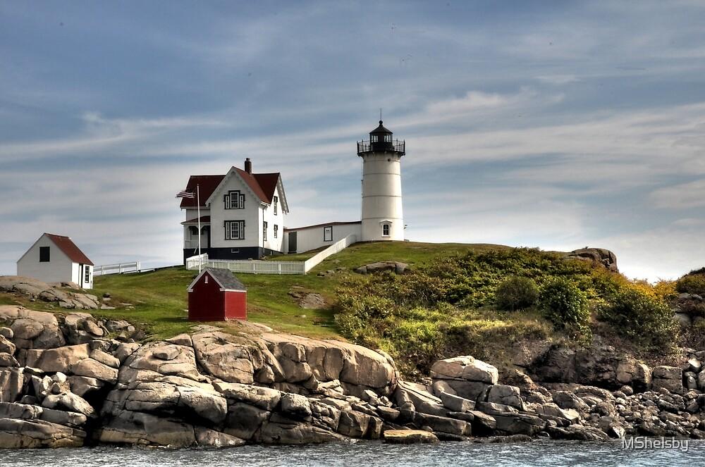 Cape Neddick by MShelsby
