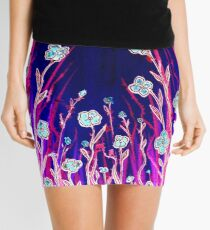 Growing Together - Flowers Mini Skirt