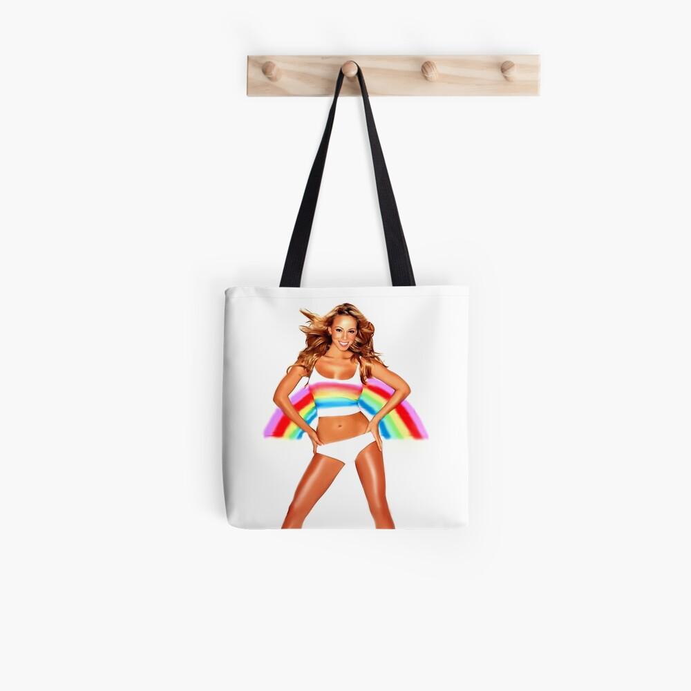 Mariah Carey Regenbogen Tote Bag