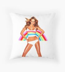 Illustration Mariah Carey Rainbow Floor Pillow