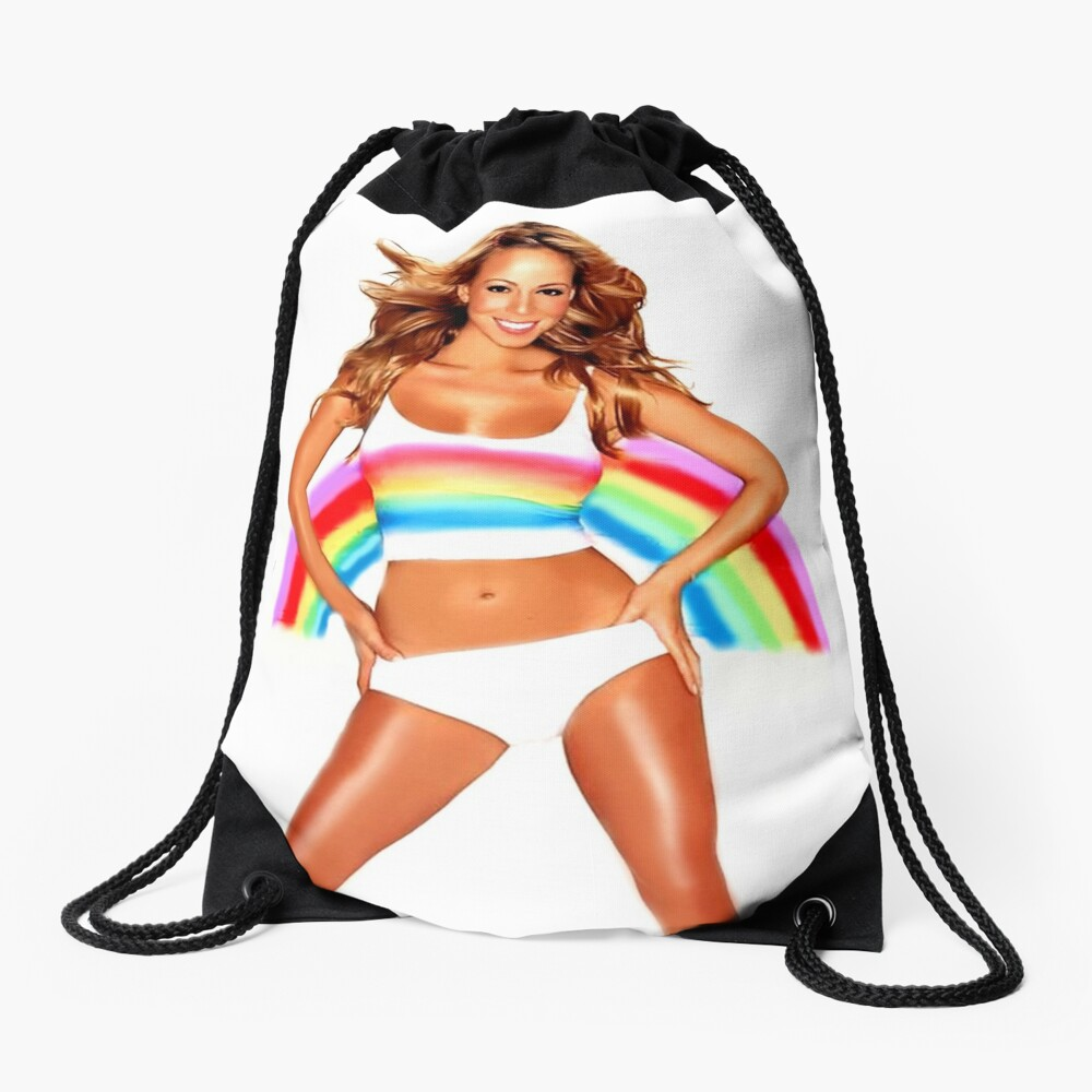 Mariah Carey Regenbogen Turnbeutel