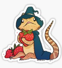 Bearded Dragon - Grunt Sticker