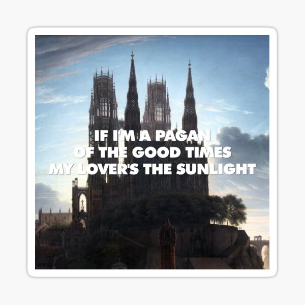 Take Me to Church by The Waterside Sticker