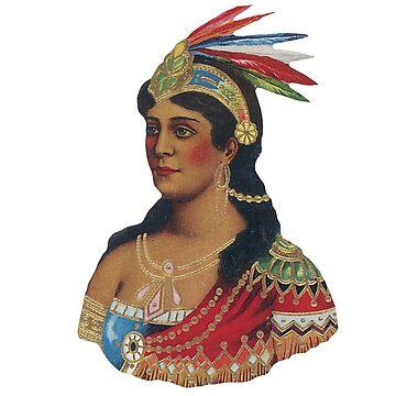 Indian Queen by Salocin