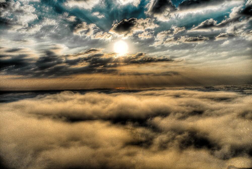 Sunrise over Lake Michigan by jnhPhoto