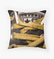 Laces Throw Pillow