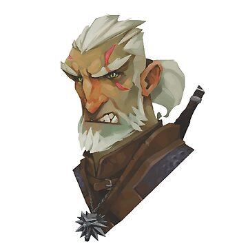 Witcher 3 Geralt  by SimpleDesignes