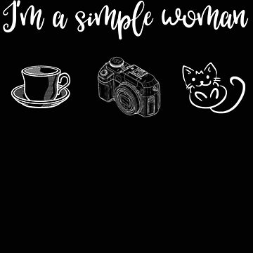 Photographer Simple Woman Camera Cat by stacyanne324