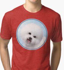 Bichon Frise Tri-blend T-Shirt