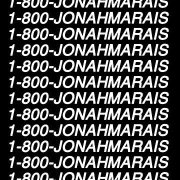 1-800-JonahMarais by amandamedeiros