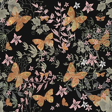 Floral seamless pattern.  by fuzzyfox