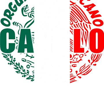 CANELO - Orgullo Mexicano T-Shirt by danny911