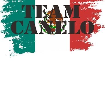 Team Canelo Mexico Flag T-Shirt by danny911