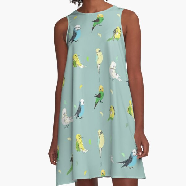 Peep Peep! A-Line Dress