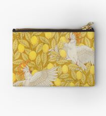 Cockatoo Pattern Studio Pouch