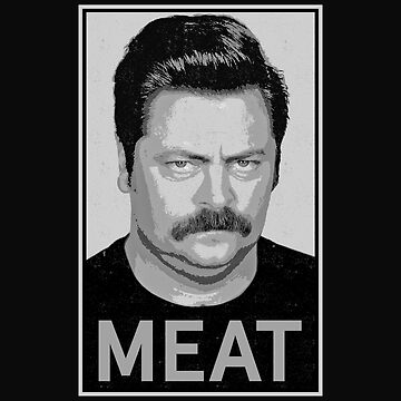 Ron Swanson | Parks and Rec  by droppedpiano