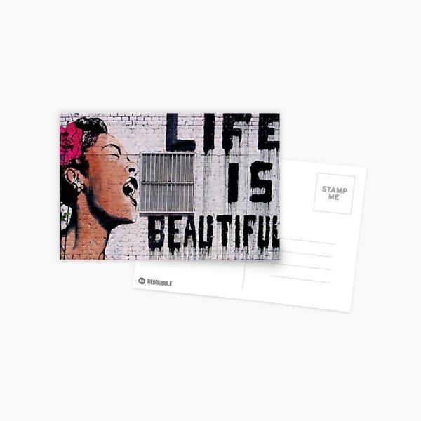 Life is Beautiful! Postcard