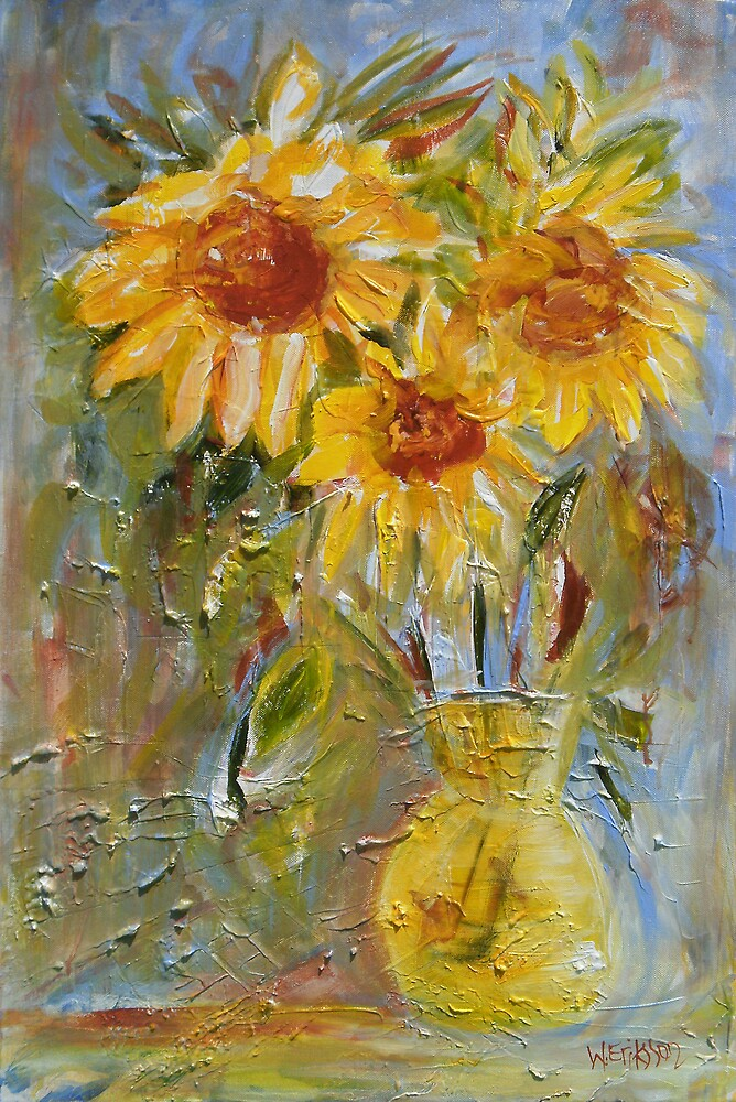 Market Day Sunflowers by Wendy Eriksson