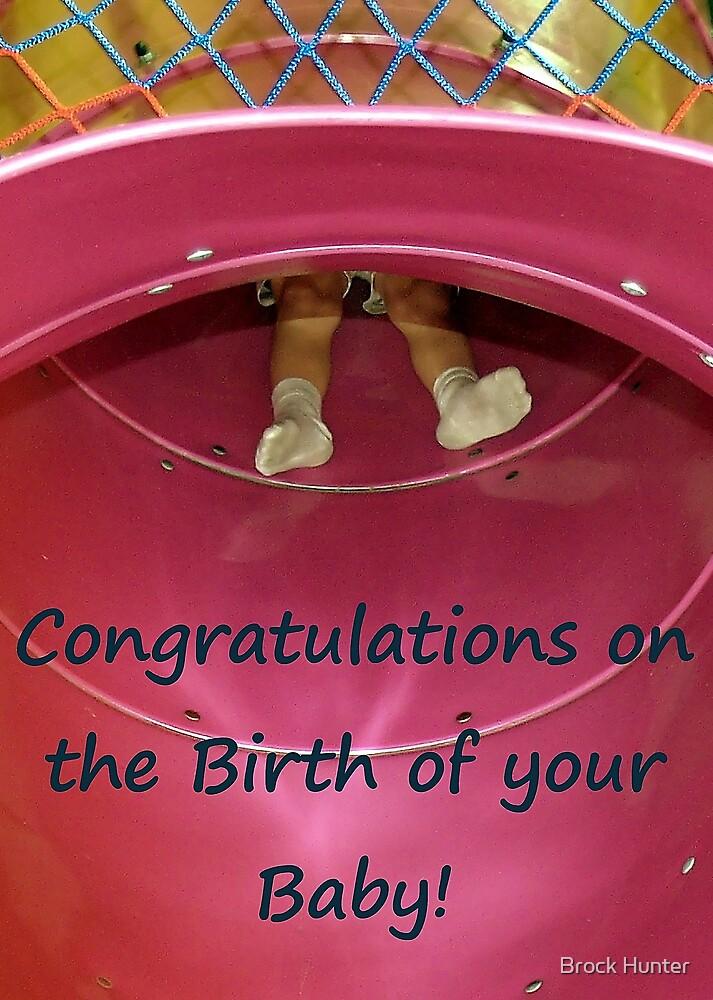 birth congratulations by Brock Hunter