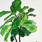 Fantastic Fiddle-Leaf Fig by gillsart