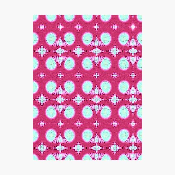 Pink Wallflower Photographic Print