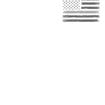 Correctional Officer Thin Silver Line - Pocket by common-node