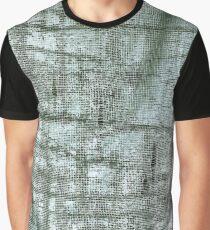 Distressed Textile Graphic T-Shirt