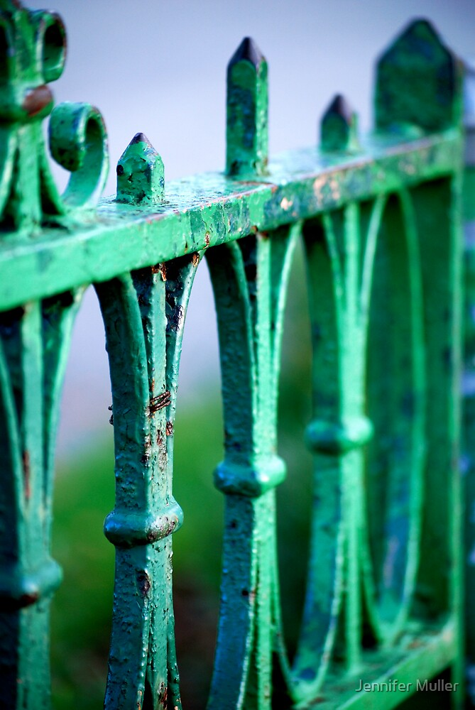 top of the gate by Jennifer Muller