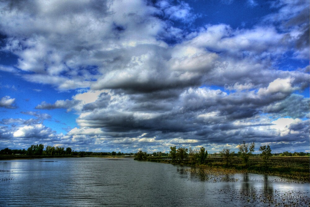 Clouds over Canard River by tanmari