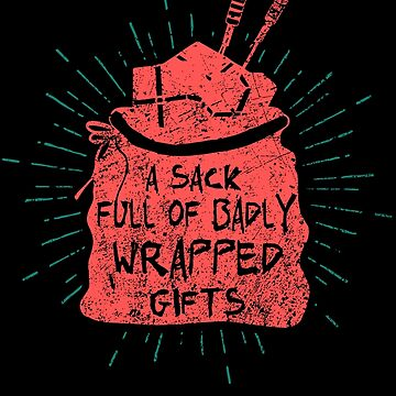 Badly Wrapped Gifts by NovaPaint