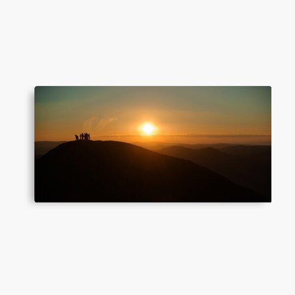 Sunrise on Feathertop Canvas Print