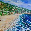 Torrance Beach, Redondo California by Tom Roderick