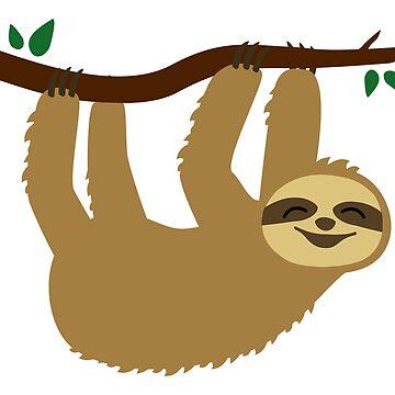 Sloth by Fuchs-und-Spatz