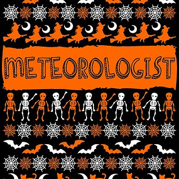 Cool Meteorologist Ugly Halloween Gift by BBPDesigns