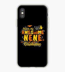 This is My Awesome Nene Costume Funny Gift  iPhone Case