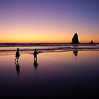 When the sun goes down the rock spirits play by Jenny Miller