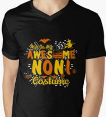 This is My Awesome Noni Costume Funny Gift  Men's V-Neck T-Shirt