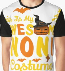 This is My Awesome Noni Costume Funny Gift  Graphic T-Shirt