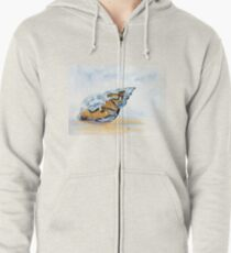 The Glass Shell Zipped Hoodie