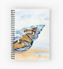 The Glass Shell Spiral Notebook