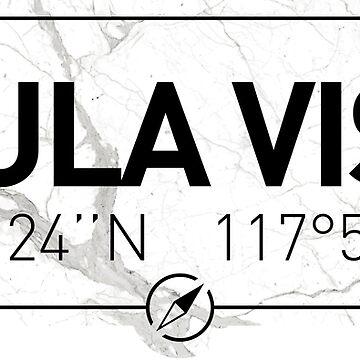 The longitude and latitude of Chula Vista, CA by efomylod