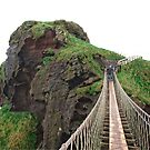 Carrick-A-Rede Bridge by Ludwig Wagner