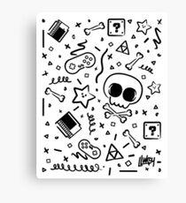 Lluksy Retro Gamer Canvas Print