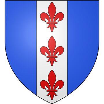 French France Coat of Arms 14783 Blason ville fr Rohr Bas Rhin by wetdryvac